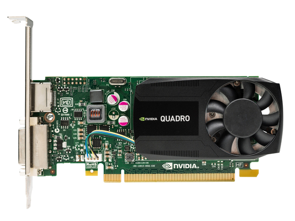 NVIDIA Quadro K620 - Grafikkarten - Quadro K620 - 2 GB DDR3 - PCIe 2.0 x16 Low Profile - DVI, DisplayPort