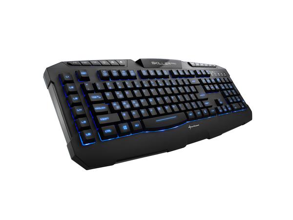 Sharkoon Skiller PRO - Tastatur - USB - German QWERTZ - Schwarz - Einzelhandel