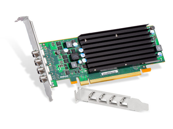 Matrox C420 LP - C-Series - Grafikkarten - 2 GB GDDR5 - PCIe 3.0 x16 Low Profile - 4 x Mini DisplayPort