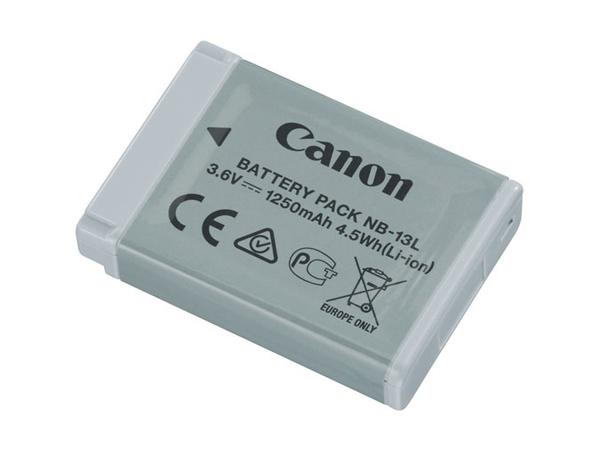 Canon Battery Pack NB-13L - Kamerabatterie Li-Ion 1250 mAh - für PowerShot G5 X, G7 X, G9 X, G9 X Mark II, SX620 HS, SX720 HS