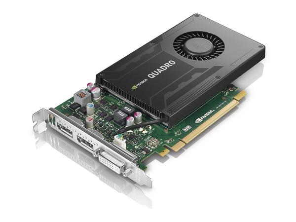 NVIDIA Quadro K2200 - Grafikkarten - Quadro K2200 - 4 GB GDDR5 - PCIe 2.0 x16 - DVI, 2 x DisplayPort