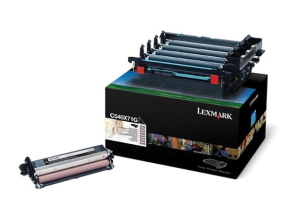 Lexmark - Schwarz - Druckerbildeinheit LCCP - für Lexmark XS544, XS548; C540, 543, 544, 546; X543, 544, 546, 548