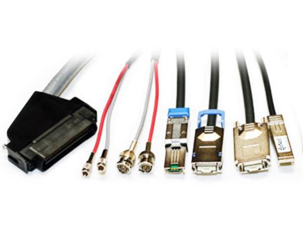Lenovo - Externes SAS-Kabel - 36-polig 4x Shielded Mini MultiLane (M) bis 4x Shielded Mini MultiLane SAS (SFF-8088), 26-polig (M) - 60 cm - für Storwize V3700, V5000; Storwize V3700