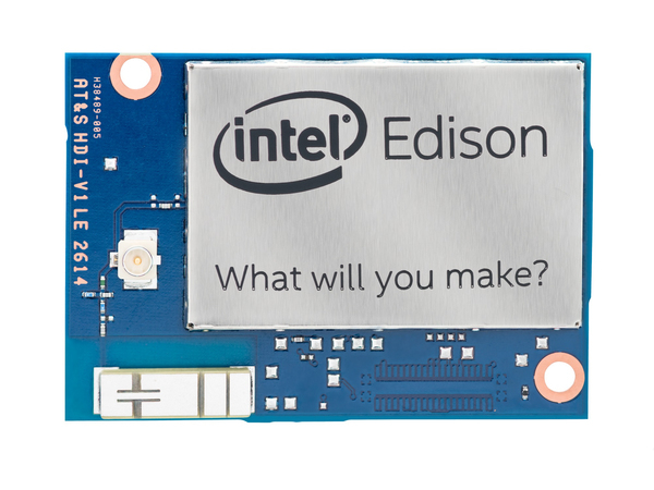 Intel Edison Compute Module (IoT), 500 MHz, Intel® Atom™, 70-pin Hirose .4mm, 22 nm, Intel Quark, 100 MHz