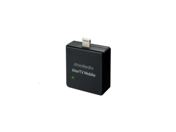 AVerMedia AVerTV Mobile 330 - DVB-T-Tuner-Modul - für Apple iPad Air; iPad Air 2; iPad mini; iPad mini 2; 3; iPad with Retina display (4th generation); iPhone 5, 5c, 5s, 6, 6 Plus; iPod touch