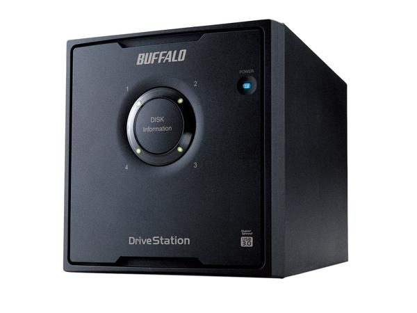 BUFFALO DriveStation Quad USB 3.0 - Festplatten-Array - 24 TB - 4 Schächte (SATA-300) - HDD 6 TB x 4 - USB 3.0 (extern)
