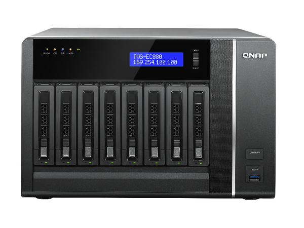 QNAP NAS TVS-EC880-E3-8G (8 Bay)***