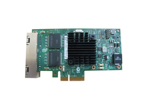 Intel I350 QP - Netzwerkadapter - PCIe - Gigabit Ethernet x 4 - für PowerEdge R220, R230, R320, R330, R530, R630, R730, R930, T130, T320, T330, T430, T630