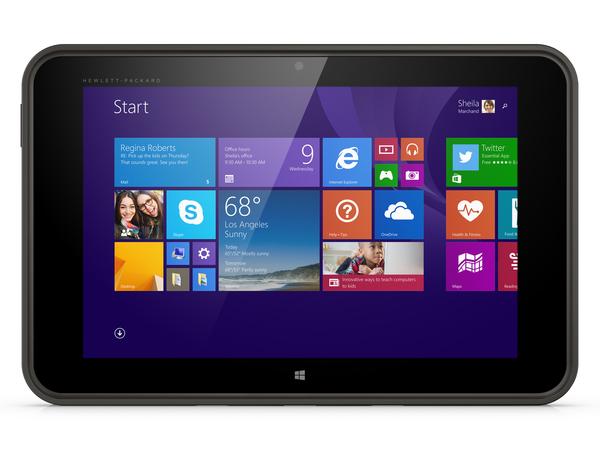 HP Pro Tablet 10 EE G1 - Tablet - keine Tastatur - Atom Z3735F / 1.33 GHz - Win 8.1 Pro 32-Bit - 2 GB RAM