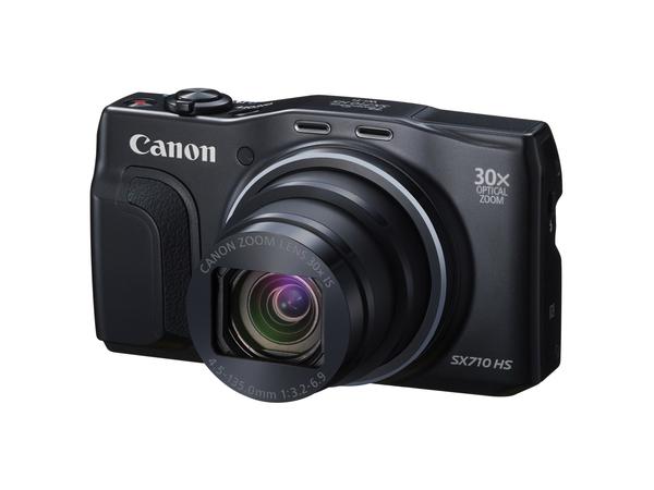 Canon PowerShot SX710 HS - Digitalkamera - Kompaktkamera - 20.3 MPix - 30x optischer Zoom - Wi-Fi, NFC