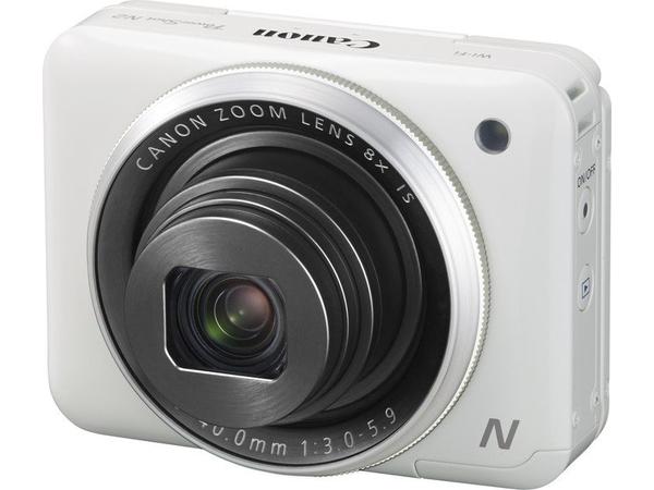 Canon PowerShot N2 - Digitalkamera - Kompaktkamera - 16.1 MPix - 1080p - 8x optischer Zoom