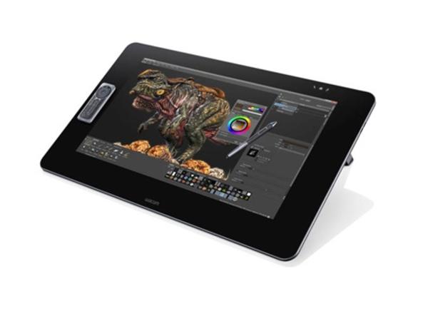 Wacom Cintiq 27QHD Touch - Digitalisierer mit LCD Anzeige - 51.84 x 32.4 cm - Multi-Touch - verkabelt - USB