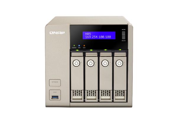 QNAP TVS-463 Turbo NAS - NAS-Server - 4 Schächte - SATA 6Gb/s - RAID 0, 1, 5, 6, 10, 5 Hot Spare, 6 Hot Spare, 10-Hot-Spare - Gigabit Ethernet
