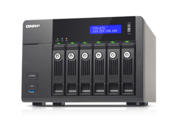 NAS QNAP TVS-671-i5-8G