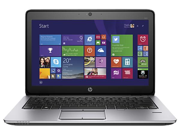 HP EliteBook 820 G2 - Core i5 5300U / 2.3 GHz - Win 7 Pro 64-bit (mit Win 8,1 Pro Lizenz) - 8 GB RAM - 256 GB SSD - 31.8 cm (12.5