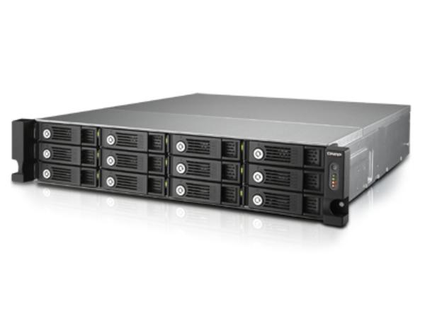 QNAP TVS-1271U-RP - NAS-Server - 12 Schächte - Rack - einbaufähig - SATA 6Gb/s