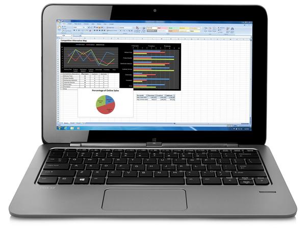 HP Elite x2 1011 G1 - Tablet - mit Tastatur-Dock - Core M 5Y51 / 1.1 GHz - Win 8.1 Pro 64-Bit - 8 GB RAM