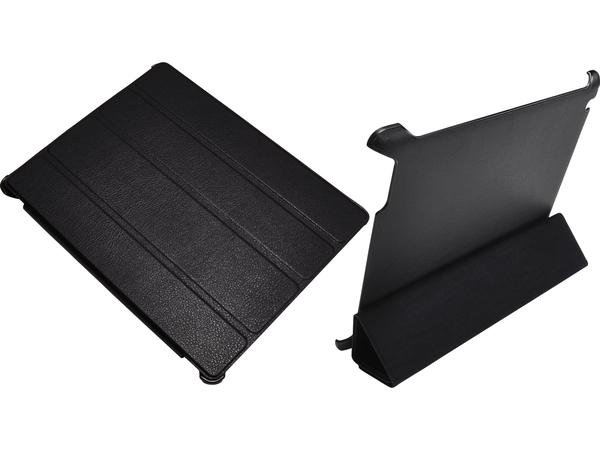 Sandberg Wrap-On - Flip-Hülle für Tablet - Schwarz - für Apple iPad Air 2