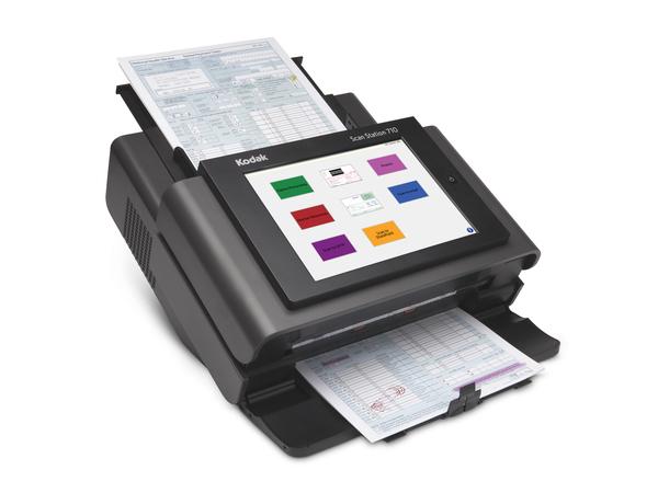 Kodak Scan Station 710 - Dokumentenscanner - Duplex - 215 x 863 mm - 600 dpi x 600 dpi - bis zu 70 Seiten/Min. (einfarbig) / bis zu 70 Seiten/Min. (Farbe)