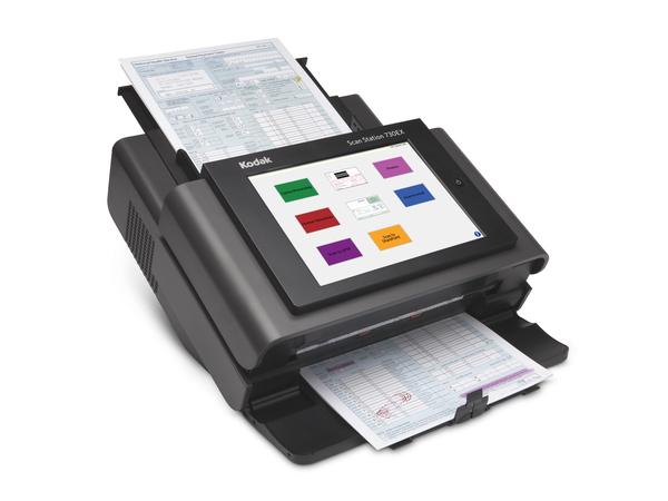 Kodak Scan Station 730EX - Dokumentenscanner - Duplex - 215 x 863 mm - 600 dpi x 600 dpi - bis zu 70 Seiten/Min. (einfarbig) / bis zu 70 Seiten/Min. (Farbe)