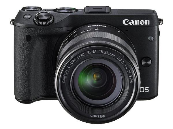 Canon EOS M3 - Digitalkamera - spiegellos - 24.2 MPix - APS-C - 1080p
