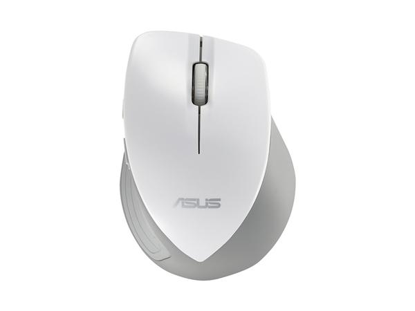 ASUS WT465 - Maus - optisch - drahtlos - 2.4 GHz - kabelloser Empfänger (USB)
