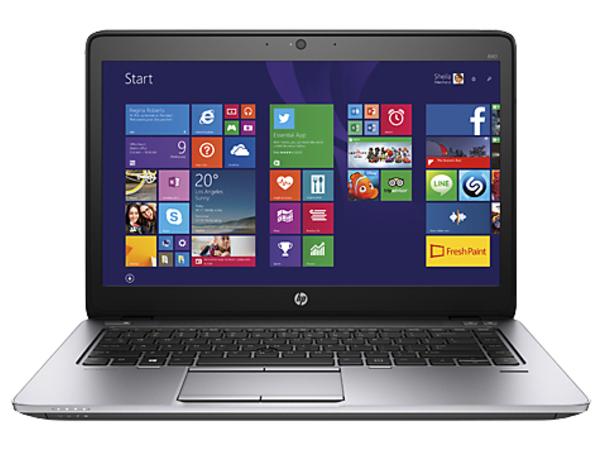 HP EliteBook 840 G2 - Core i5 5200U / 2.2 GHz - Win 7 Pro 64-bit (mit Win 8,1 Pro 64-bit Lizenz) - 4 GB RAM - 500 GB HDD (32 GB SSD-Cache) - 35.6 cm (14