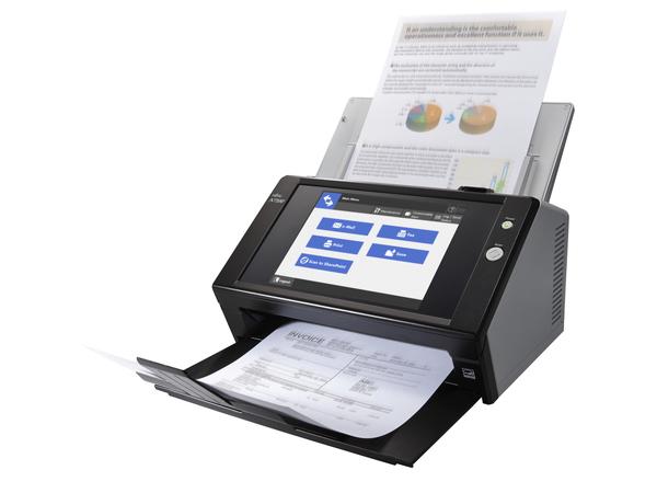 Fujitsu Network Scanner N7100 - Dokumentenscanner - Duplex - 216 x 355.6 mm - 600 dpi x 600 dpi - bis zu 25 Seiten/Min. (einfarbig) / bis zu 25 Seiten/Min. (Farbe)