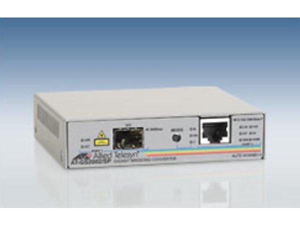 Allied Telesis AT GS2002/SP - Medienkonverter - Ethernet, Fast Ethernet, Gigabit Ethernet - 10Base-T, 100Base-TX, 1000Base-T - RJ-45