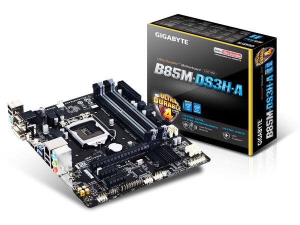 GA-B85M-DS3H-A S1150 B85 MATX