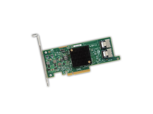 LSI SAS 9300-8e - Speicher-Controller - SAS 12Gb/s - 12 GBps - für PowerVault MD3400, MD3420, MD3460, MD3800F, MD3800i, MD3820f, MD3820i