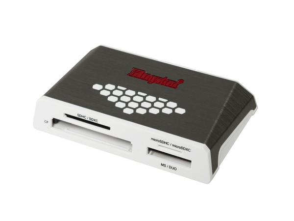 Kingston High-Speed Media Reader - Kartenleser (CF I, CF II, MS, MS PRO, SD, MS Duo, MS PRO Duo, CF, microSD, SDHC, microSDHC, MS PRO-HG Duo, SDHC UHS-I, SDXC UHS-I, microSDHC UHS-I, microSDXC