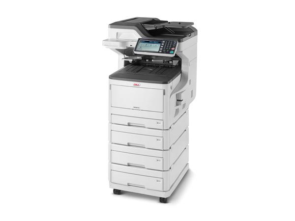 OKI MC873DNV - Multifunktionsdrucker - Farbe - LED - 297 x 431.8 mm (Original) - A3 (Medien)