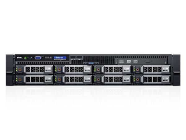 Dell PowerEdge R530 - Server - Rack-Montage - 2U - zweiweg - 1 x Xeon E5-2603V3 / 1.6 GHz - RAM 8 GB - SAS - Hot-Swap 8.9 cm (3.5
