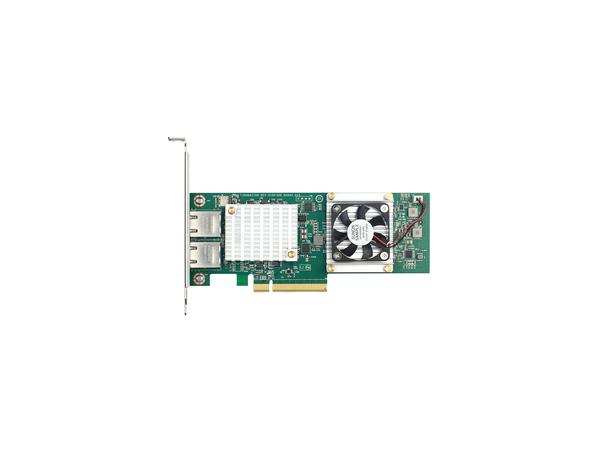 D-Link DXE-820T - Netzwerkadapter - PCIe 2.0 x8 / PCIe x16 - 10GBase-T x 2