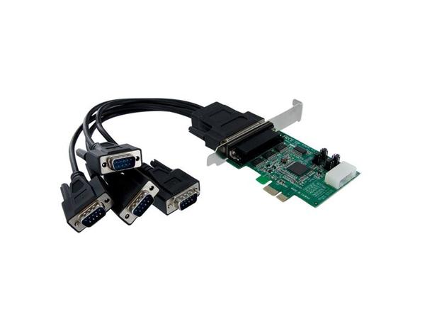 4X PCIE SERIAL ADAPTER CARD