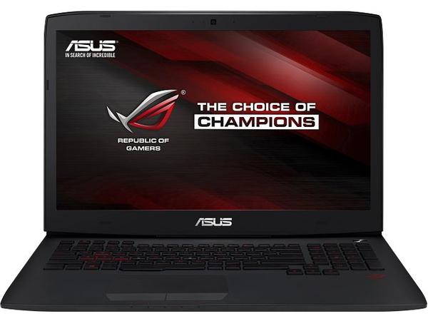 Finanzierung Notebook ASUS ROG G751JT-T7145H - Core i7 4720HQ / 2.6 GHz - Windows 8.1 64-Bit - 16 GB RAM - 256 GB SSD + 2 TB HDD - DVD-Writer/Blu-ray