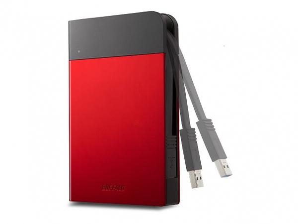 BUFFALO MiniStation Extreme - Festplatte - verschlüsselt - 1 TB - extern (tragbar) - USB 3.0