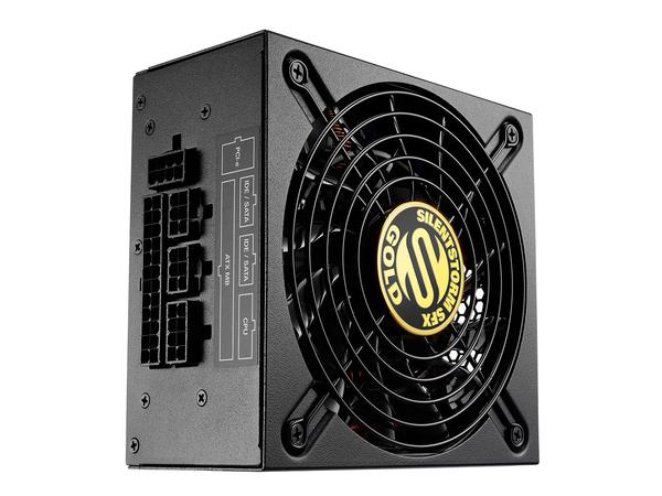 Sharkoon SilentStorm SFX 500 Gold - Stromversorgung (intern) - 80 PLUS Gold - Wechselstrom 100-240 V - 500 Watt