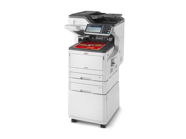 OKI MC853DNCT - Multifunktionsdrucker - Farbe - LED - 297 x 431.8 mm (Original) - A3 (Medien)