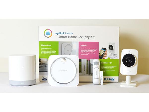 mydlink Home Smart Home Security Kit - Haussicherungssystem - drahtlos - Wi-Fi, Z-Wave