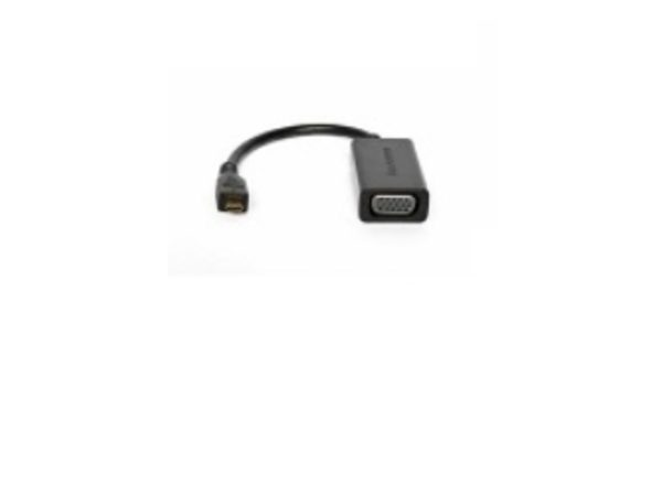Lenovo - Video- / Audio-Adapter - HDMI / VGA - HD-15 (W) bis mikro HDMI (M) - für Miix 320-10ICR; ThinkPad Helix 20CG, 20CH; Yoga Tablet 10; 8