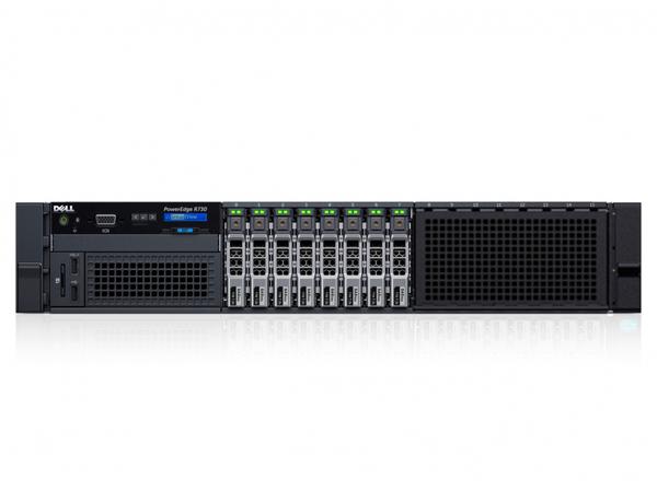 Dell PowerEdge R730 - Server - Rack-Montage - 2U - zweiweg - 1 x Xeon E5-2620V3 / 2.4 GHz - RAM 16 GB - SAS - Hot-Swap 6.4 cm (2.5