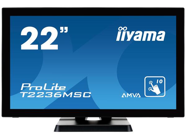 Iiyama ProLite T2236MSC-B2 - LED-Monitor - 55.9 cm (22