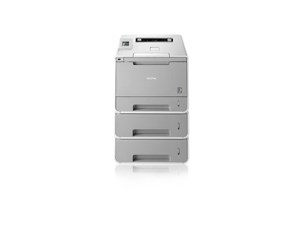 Drucker HL-L9300CDWTT / Farblaser A4 / 30ppm sw/c / 2400 x 600dpi / 128MB / iPrint&Scan / WLAN / 2 x 500 & 1x250 Blatt / 3 Jahre