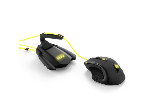 Sharkoon SHARK ZONE M51+ - Maus - Laser - 11 Tasten - verkabelt - USB