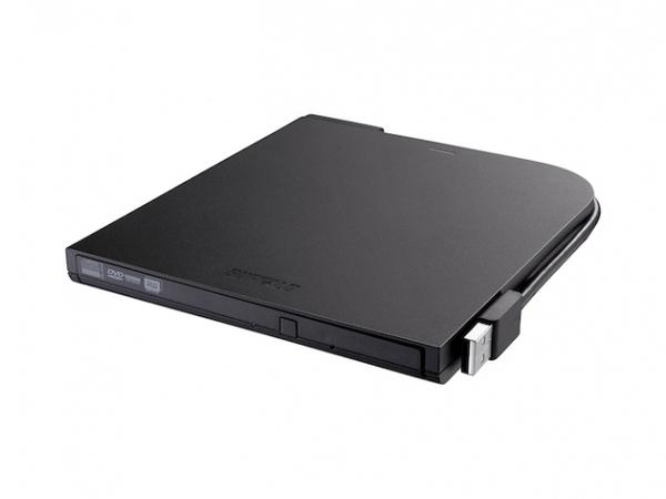 BUFFALO MediaStation Portable DVD Writer - Laufwerk - DVD±RW (±R DL) / DVD-RAM - 8x8x5x - USB 2.0 - extern