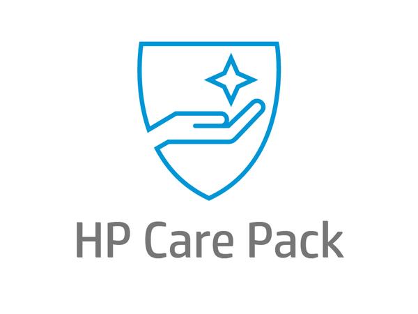 Electronic HP Care Pack Next Business Day Advanced Hardware Exchange - Serviceerweiterung - Austausch (für für extra-große Monitore) - 5 Jahre - Lieferung - 9x5