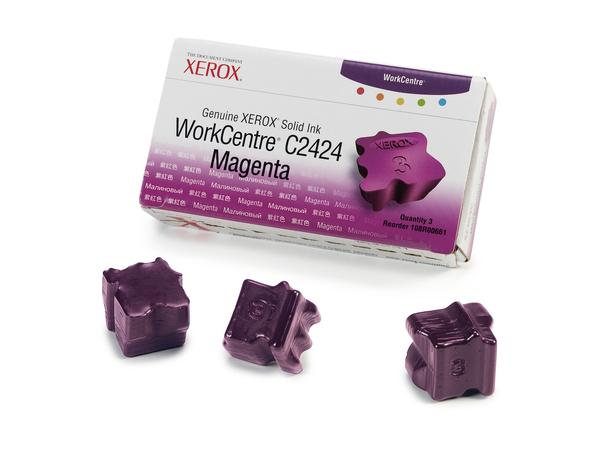 Xerox Genuine Xerox - 3 - Magenta - feste Tinten - für WorkCentre C2424
