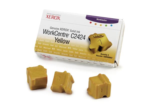 Xerox Genuine Xerox - 3 - Gelb - feste Tinten - für WorkCentre C2424